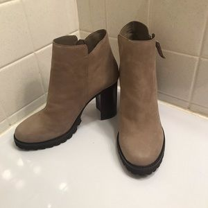 Taupe Ankle Boots NWT